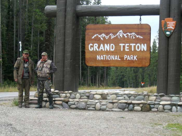 Fotolovy v Yellowstone - GRAND TETON